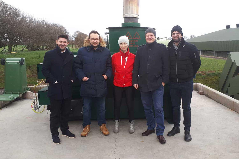 Szkolenie personelu Bentley Polska w firmie Waste Spectrum