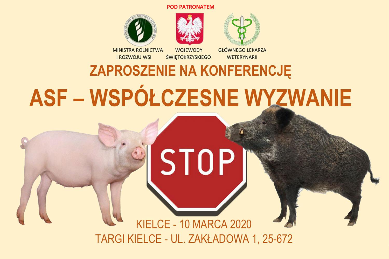Konferencja ASF 2020 w Kielcach